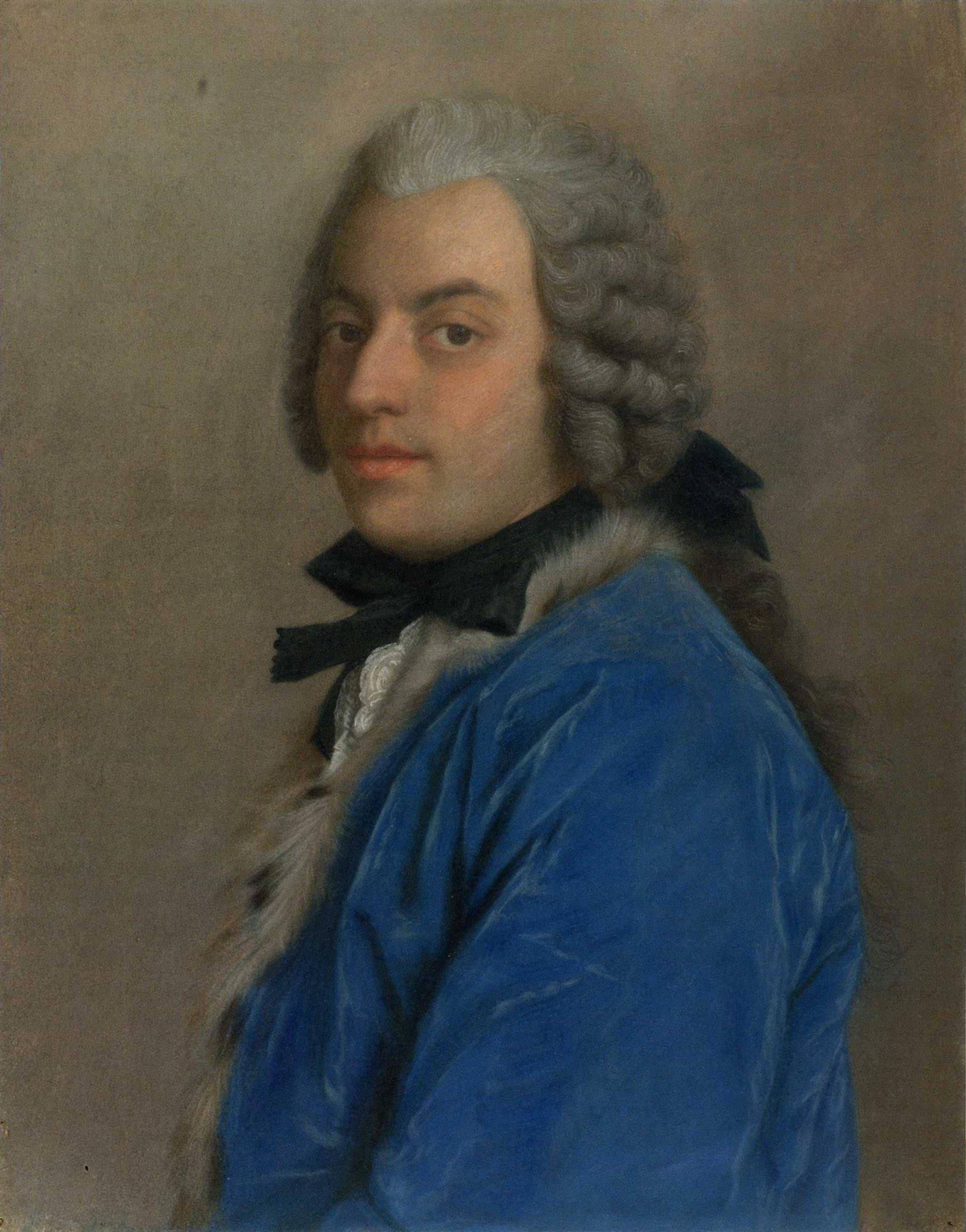 Francesco Algarotti by Étienne Liotard