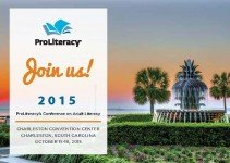 Promotion for Proliteracy's annual ebent