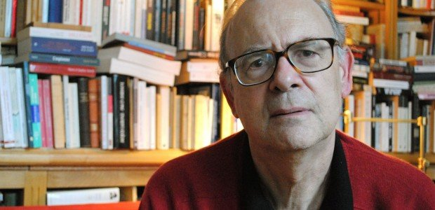 Photograph of Nobel laureate Patrick Modiano