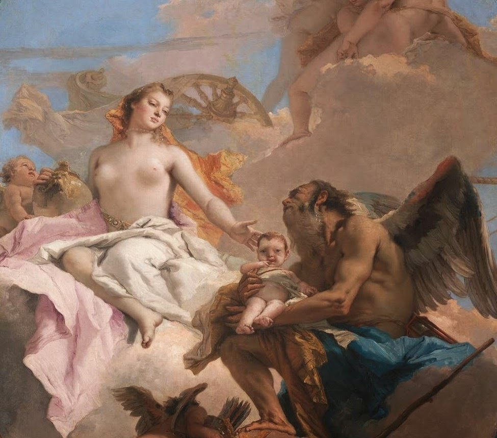 Allegory of Venus and Time by Tiepolo
