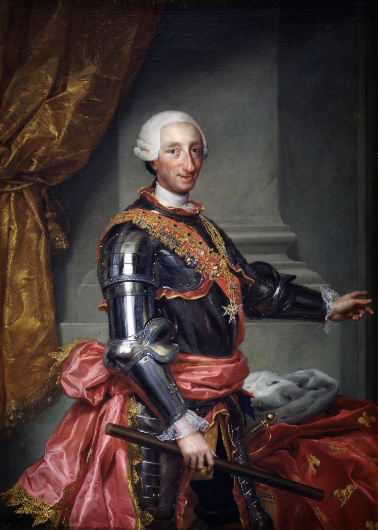 Charles III of Spain by Rafael Mengs