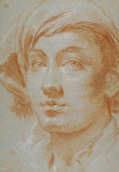 Lorenzo Tiepolo self portait, around 1755