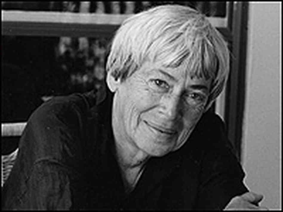 Photograph of Ursula Le Guin